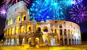 Fuochi D'artificio Capodanno Roma 2016